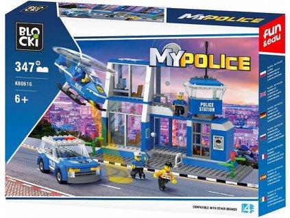 Stavebnice policie policejní stanice Lego