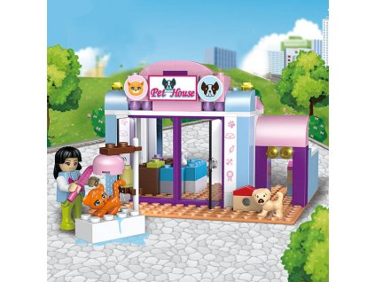 Lego Friends stavebnice fashion street