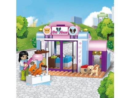 Lego Friends stavebnice fashion street