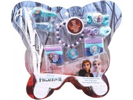 Vlasová sada a bižuterie Frozen 2