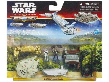 Star Wars Micromachines figurky a stroje Space Pursuit