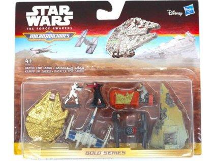 Star Wars Micromachines Gold series figurky a stroje Battle for Jakku
