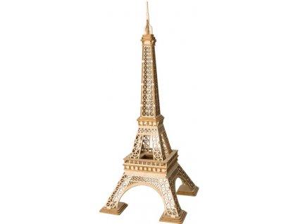 3D dřevěný puzzle Eiffelova věž
