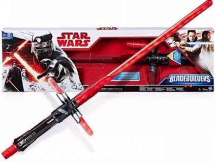 Star Wars světelný meč se zvuky Bladebuilders Kylo Ren Deluxe