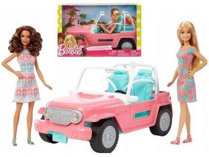 Panenky Barbie s Jeepem