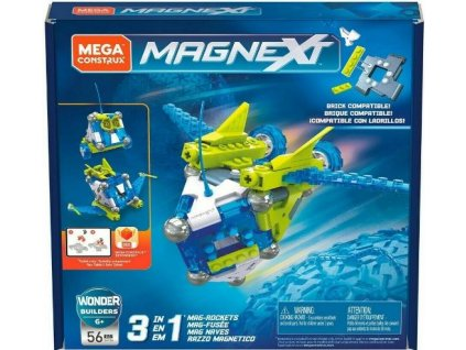 Magnetická stavebnice Mega Construx Magnext
