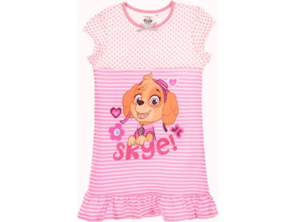 Dívčí noční košile pyžamo Tlapková Patrola