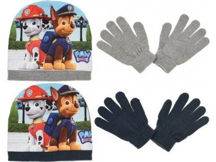 Čepice rukavice Tlapková Patrola