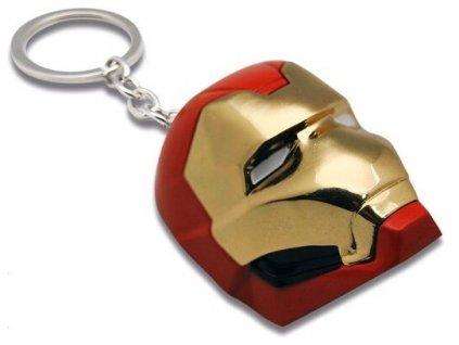 Kovový přívěsek na klíče Avengers Ironman