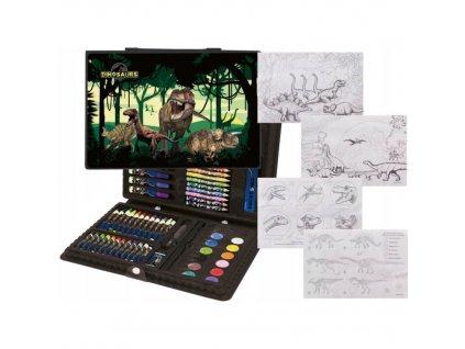 Kufřík na kreslení Dinosauři