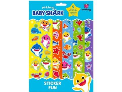 Dětské samolepky Baby Shark