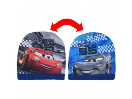 Dětská čepice Cars Auta oboustranná