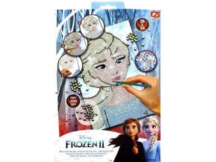 Obrázek s třpytivými flitry Frozen 2 Ledové království kreativní sada