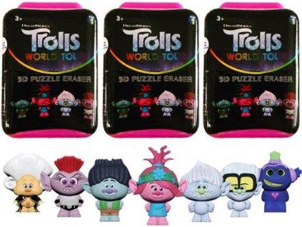 Trolls Trollové - krabička s překvapením
