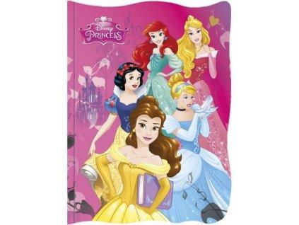 Tvarovaný notýsek Disney Princess princezny