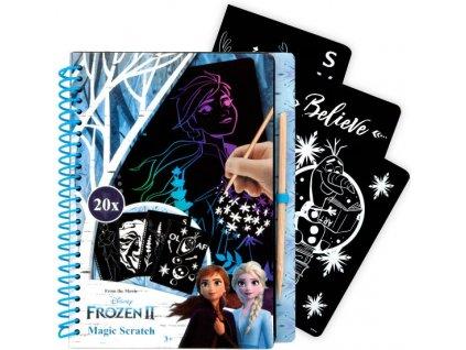 Frozen 2 Ledové království škrabací obrázky