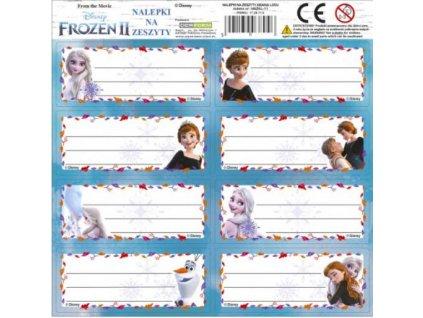 Samolepky na sešity Frozen 2 Ledové království