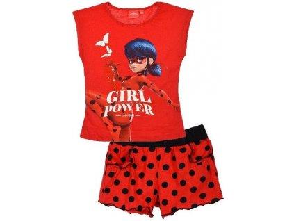 Dětský komplet Kouzelná Beruška tričko a kraťasy