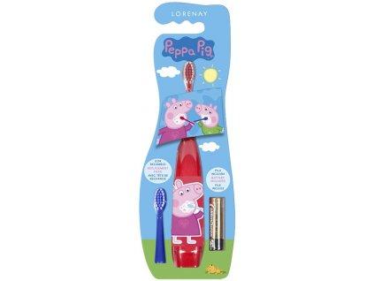 Elektrický zubní kartáček Prasátko Peppa