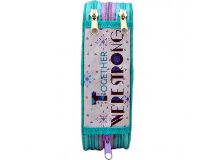 Třípatrový penál Frozen 2 Ledové království vybavený