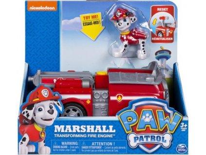 Akční autíčko s figurkou Paw Patrol Marshall