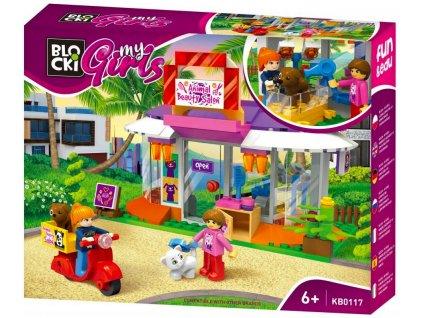 Stavebnice Lego Friends Salon krásy pro domácí mazlíčky