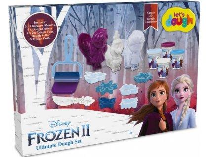 Kreativní zábavní sada Frozen 2 Ledové království s plastelínou