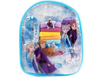 Batůžek Frozen 2 Ledové království s příslušenstvím do vlasů