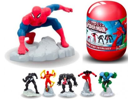 Spiderman figurky - vajíčko s překvapením