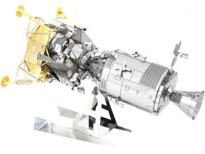 Metal Earth 3D puzzle kovový Apollo CSM s lunárním modulem