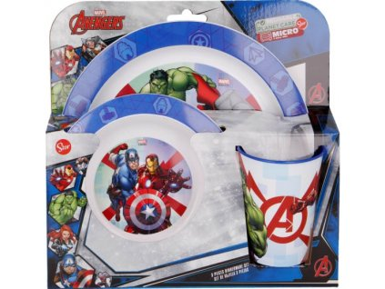 Jídelní sada Avengers