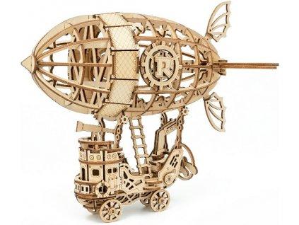 3D dřevěné puzzle Vzducholoď