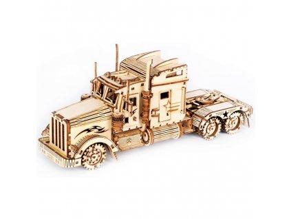 3D dřevěné puzzle Nákladní tahač Heavy Truck
