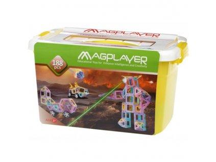 Magnetická stavebnice Magplayer
