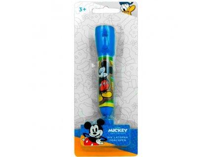 Propiska Mickey Mouse s LED svítilnou