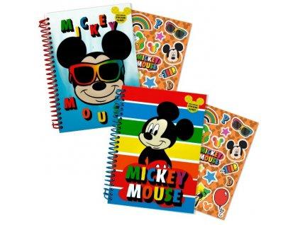 Blok diář Mickey Mouse