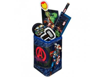 Stojánek na psací potřeby Avengers s vybavením