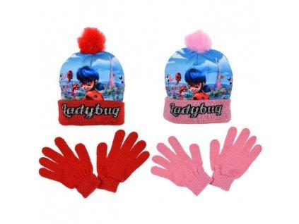 Čepice rukavice Kouzelná Beruška