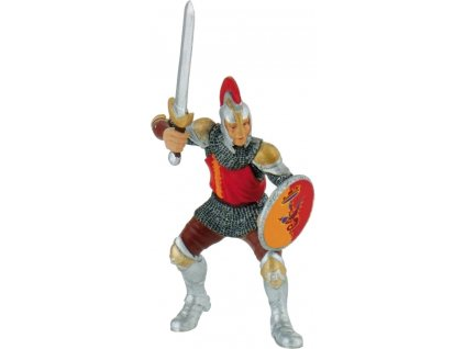 Bullyland Rytíř s mečem červený