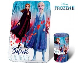 Fleece deka Frozen