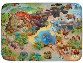 Hrací koberec Ultra Soft Dinosauři
