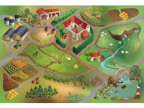 Hrací koberec Farma