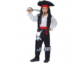 Kostým pirát, pirátský kapitán
