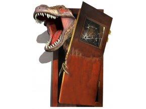 Samolepka na zeď dinosauři jurský park
