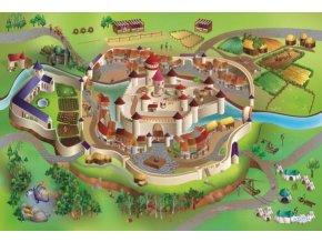 Hrací koberec Středověk