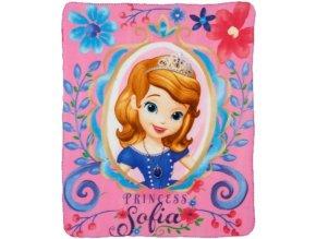 Fleece deka Princezna Sofie První