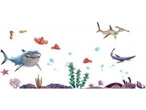 Samolepka na zeď Nemo a přátelé