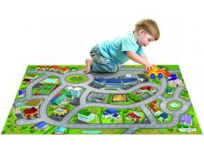 Hrací koberec Město letiště