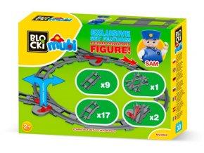 Stavebnice Lego Duplo sada kolejí pro vláčky