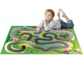 Hrací koberec Závodní dráha